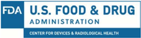 U.S Food and Drug Administration, Center for Devices and Radiological Health Logo